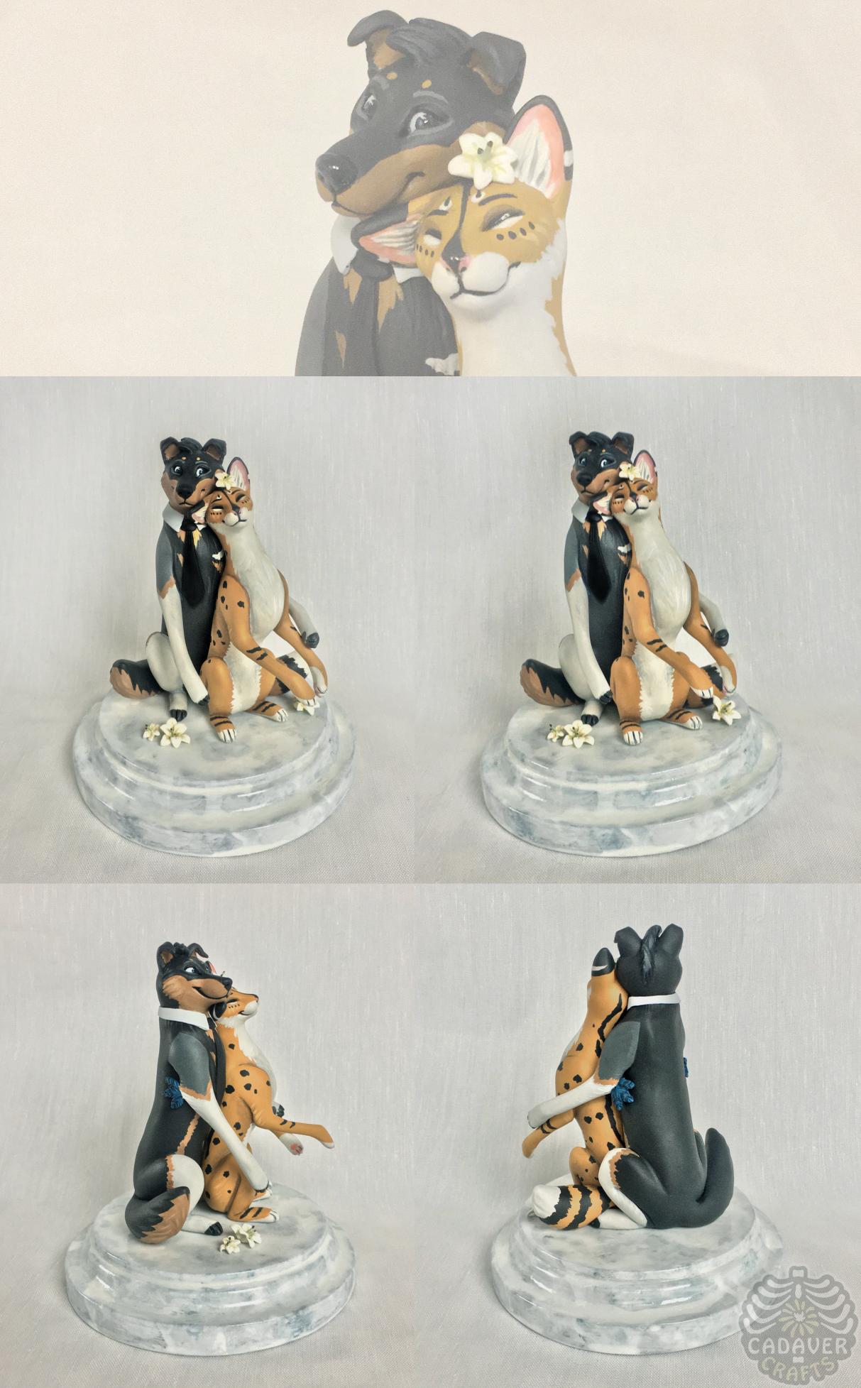 snuggle-serval [caketopper]
