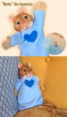 'Motte' the hamster [puppet]