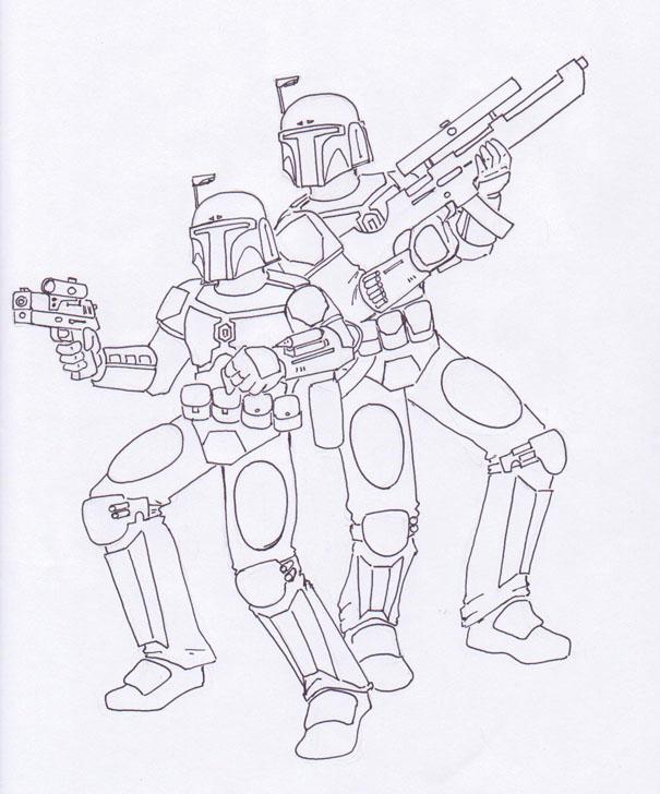 Mandalorian Armor Coloring Pages Mandalorian Coloring Pages