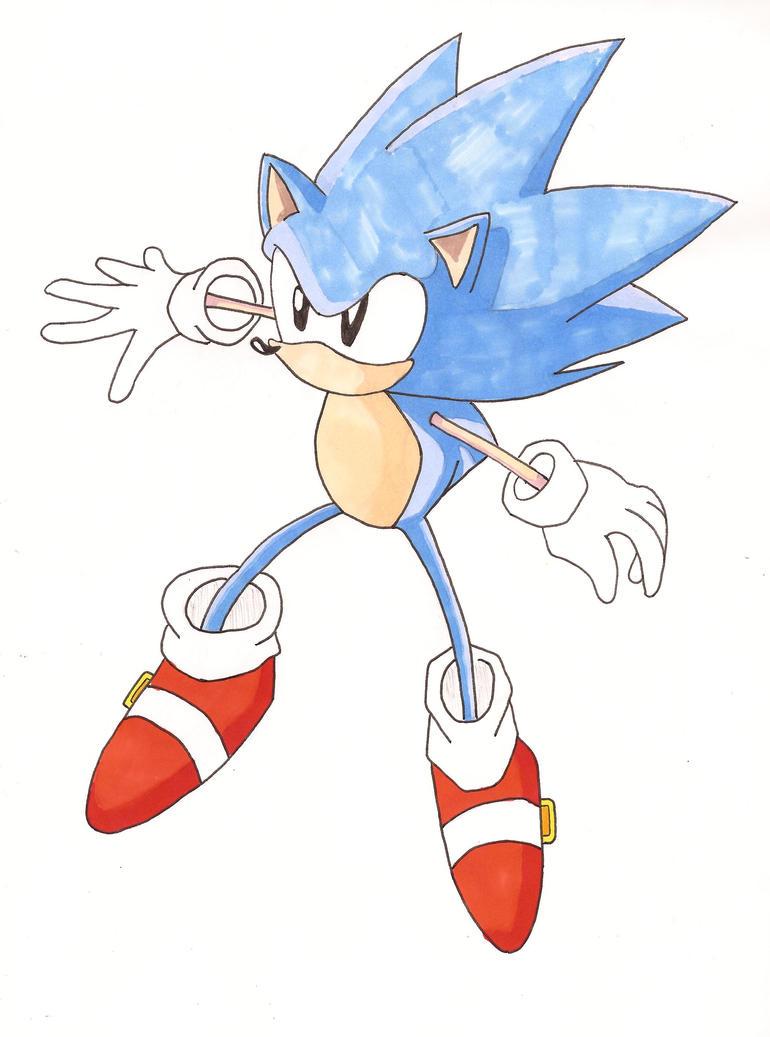 Sonic the Hedgehog... by Yazoo11