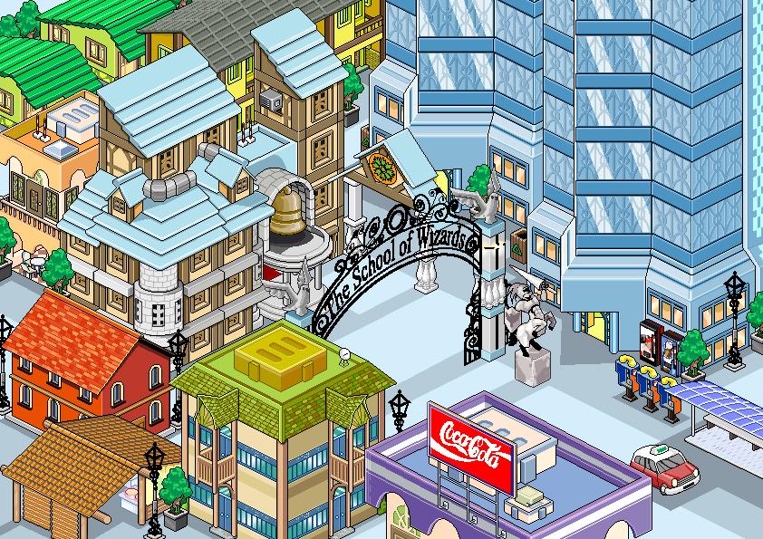 Pixel Town by timwork