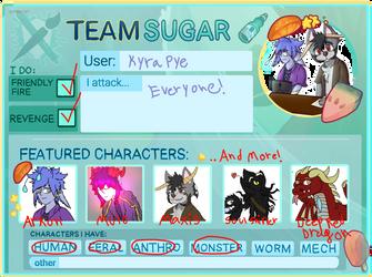Artfight Team Card