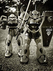Zeon War Machines by enishi-san