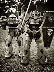 Zeon War Machines