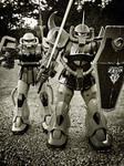 Zeon War Machines by enishi-san