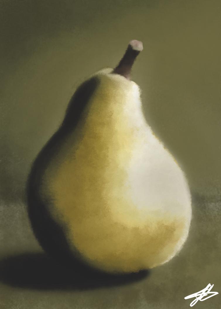 Pear Still by NeviniTambay