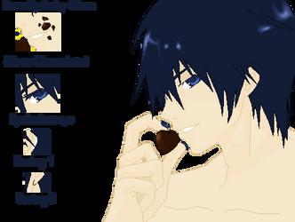 Chocolate Kaito Base by Anky-Chan