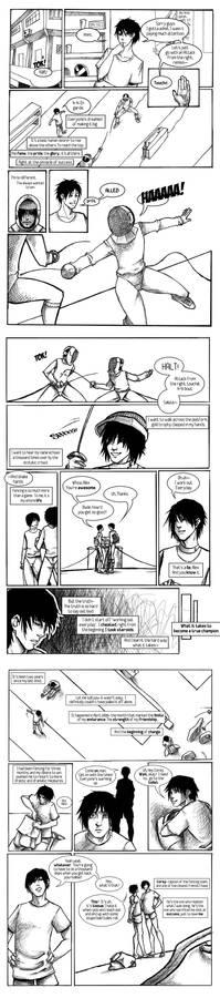 A True Champion Page 1-3