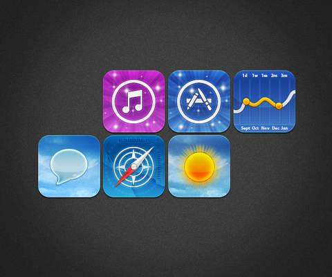 WIP iPhone4 Theme