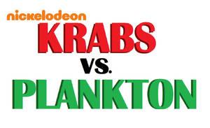Krabs vs. Plankton logo