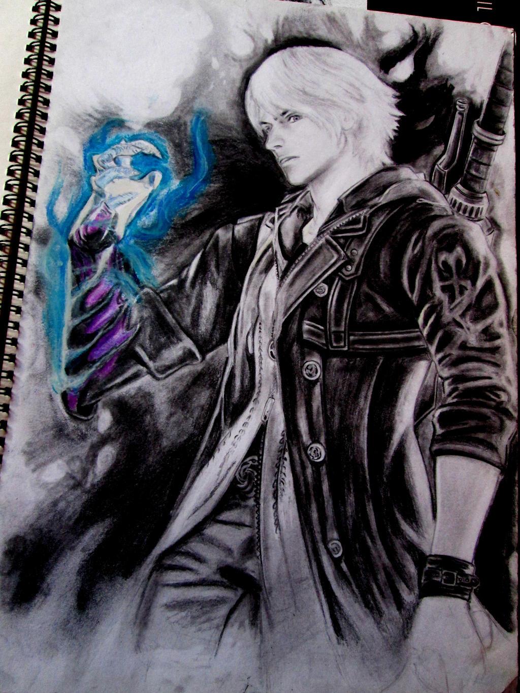 Devil May Cry4 NERO by kjviray