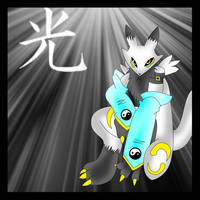 LightRenamon 'Male Version' by LightRenamon