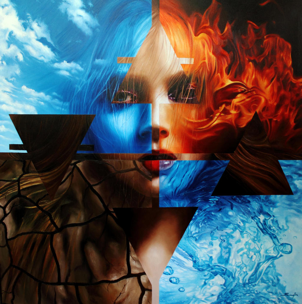 Mother nature and the four elements by Jasonart50 on ...