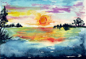 Sonnenuntergang by Nijihebi