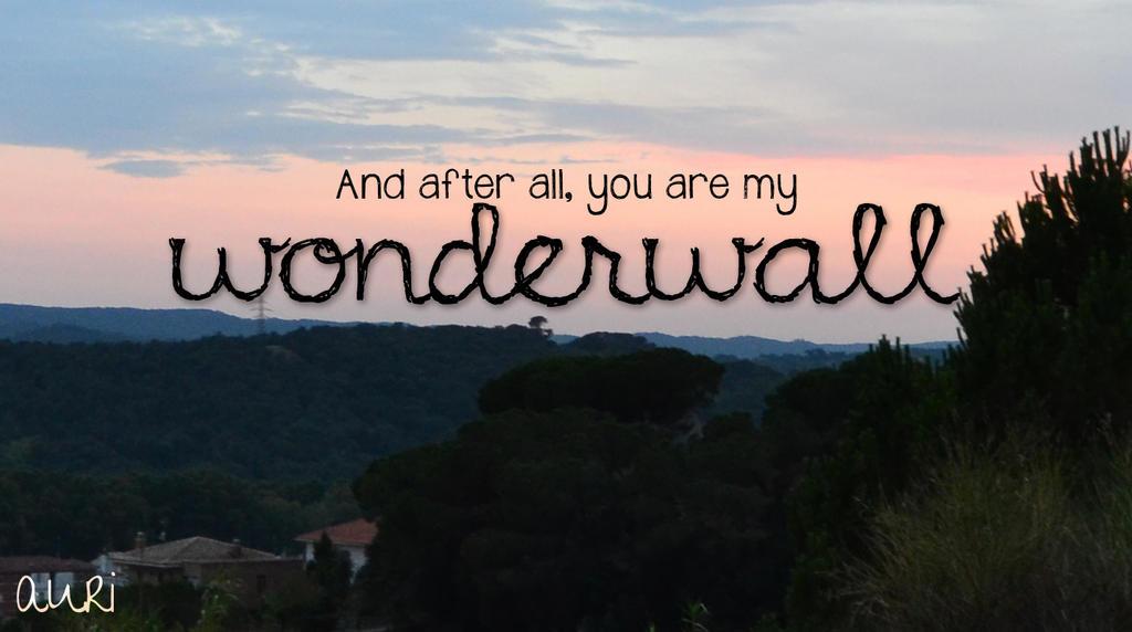 Oasis - Wonderwall - Official Video - YouTube