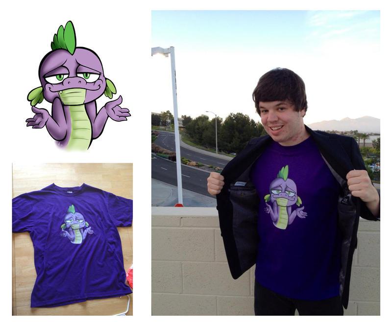 Spike Shirt Design by WolverFox