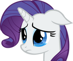 Crying Rarity Vector