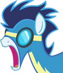 Shocked Soarin' Vector