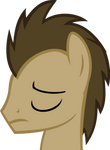 Sad Doctor Whooves Vector