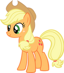 Happy Applejack Vector