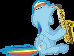 Sexy Sax Pony