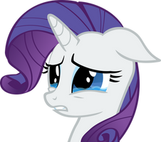 Crying Rarity Vector 2 by hombre0