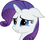 Crying Rarity Vector 2