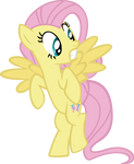 Scared Fluttershy Vector