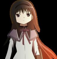 Homura Akemi Vector by hombre0
