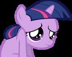Sad Filly Twilight Vector
