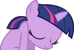 Sad Filly Twilight Vector 2 by hombre0