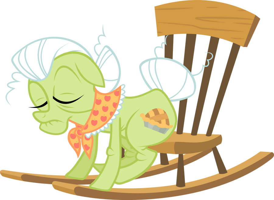 Sleeping Granny Smith Vector
