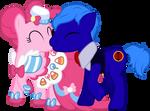 OC x Pinkie Pie Vector