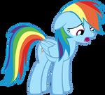 Crying Rainbow Dash