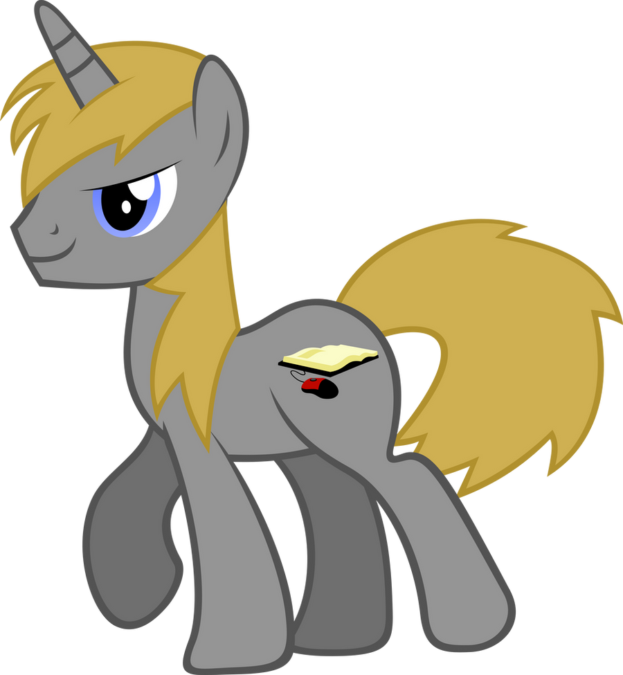 OC Pony Vector - Tom by hombre0