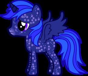 Foal Starlight Vector