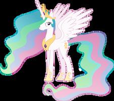 Princess Celestia Vector by hombre0