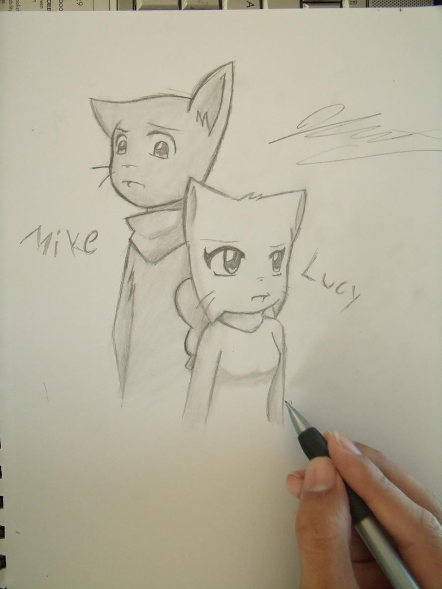 Mike and Lucy by Graypelt