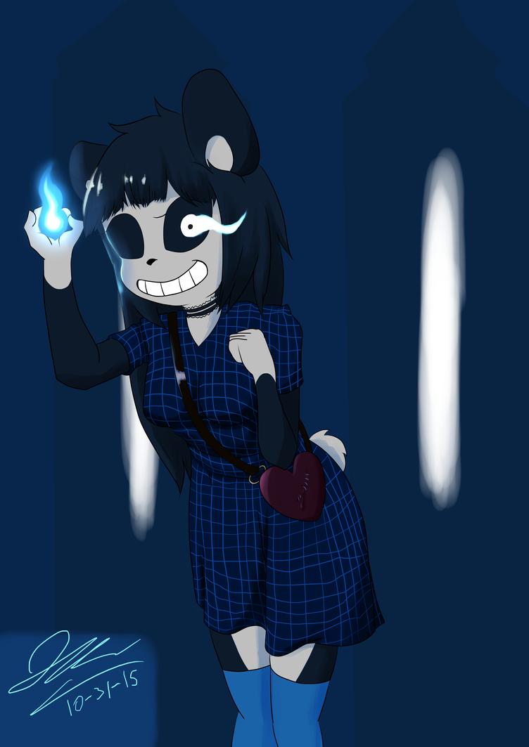 Bad Time Panda by Graypelt