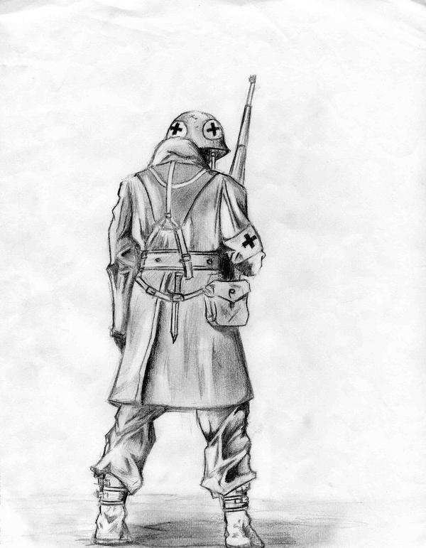 american soldier drawing - photo #6