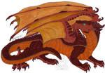 Wings of Fire fanart - Nettle the MudWing