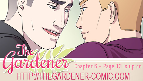 The gardener - Chapter 6 page 13 by Marc-G