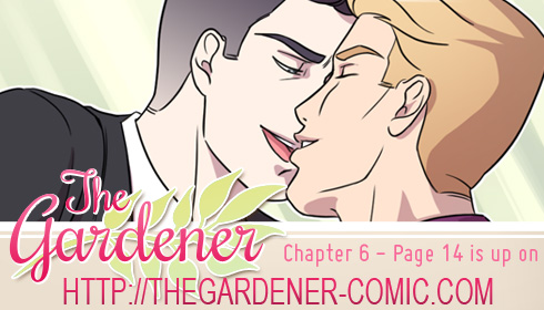 The gardener - Chapter 6 page 14 by Marc-G