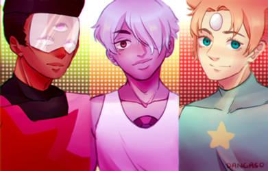 Genderbent Crystal Gem by Dangaso
