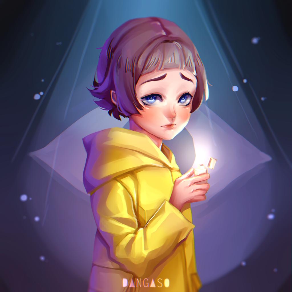 Six (Little Nightmares fan art) by Dangaso