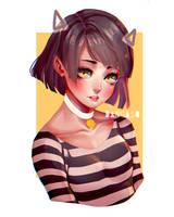 Cat Girl by Dangaso