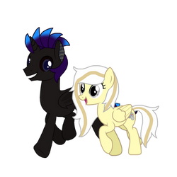 Two friends Together by ShadowLover37