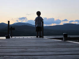 Dock at Dusk by wagn18