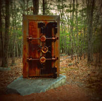 Vault door in the Forest by wagn18