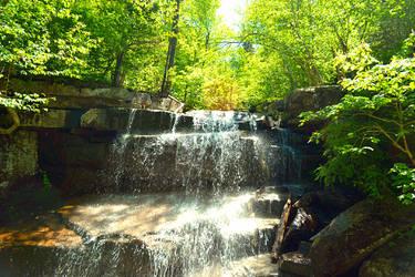 Chocorua Waterfall by wagn18